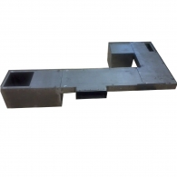 6 x 3.5 inch steel trench duct
