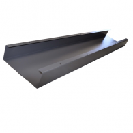 Aluminum Wall Duct Base 10''x 3.5'' x 5'