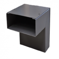 Wall Duct Outside 90° Adapter 24'' x 3.5''