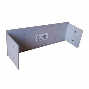 Aluminum Wall Duct End Closure 30'' x 3.5''