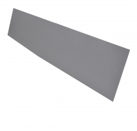 Aluminum Wall Duct Flush Mount Cover 10''