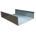 Aluminum Wall Duct Base 30''x 3.5'' x 5'