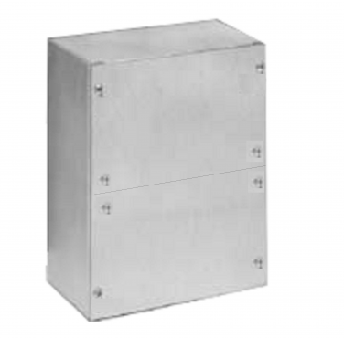 Junction Box 8x8x6 w/ Split Surface Cover, Divider