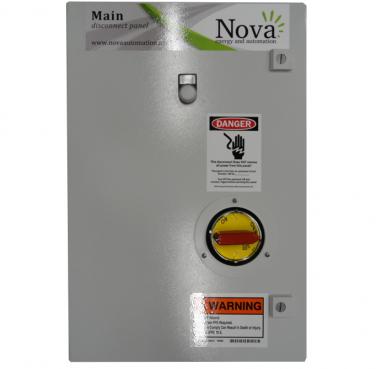 125 Amp 480V Panel w/ Under Voltage