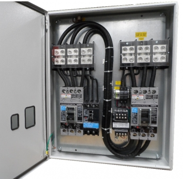 100 amp 480v panel 3 cb w under voltage mri panels for How to size an electrical panel