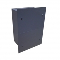 JB101004-FC-SP-DV  Junction Box 10x10x4 Split Flush Cover Divider